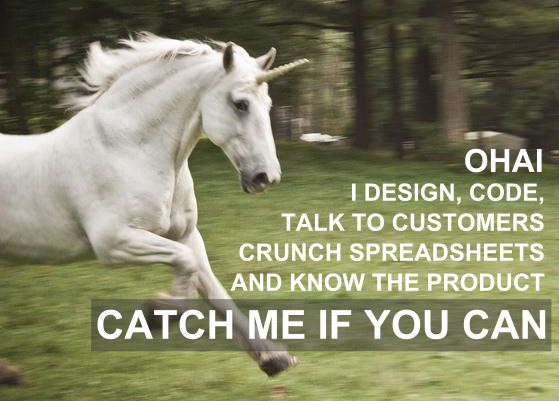 technical marketing unicorn